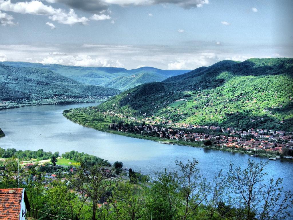 Visegrad mit Donau