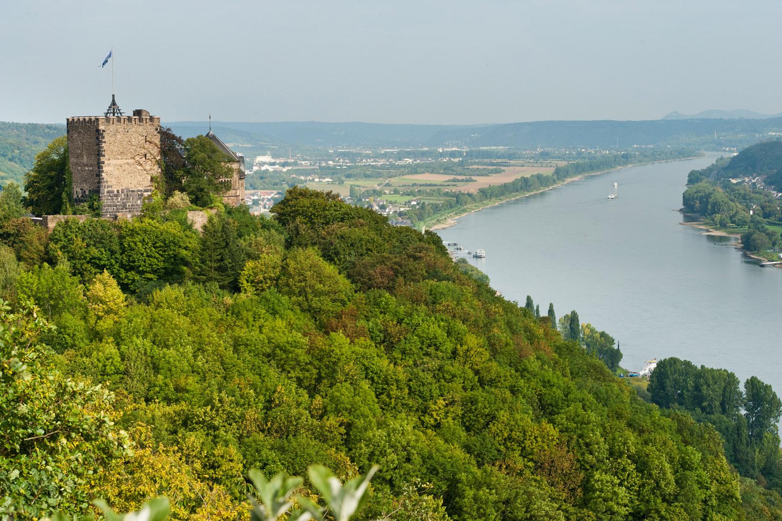 Bad Breisig - Burg Rheineck