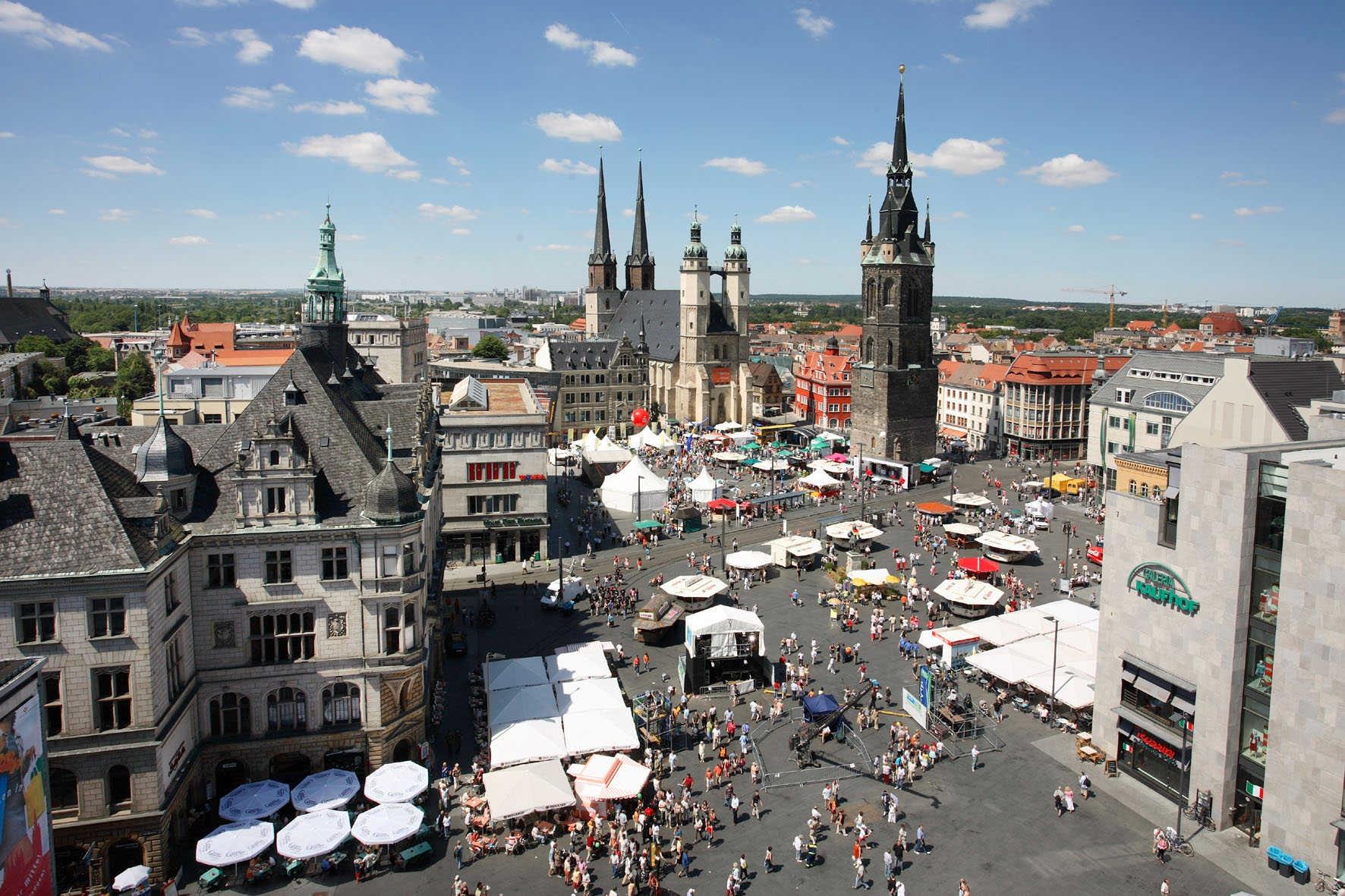 Saale Marktplatz