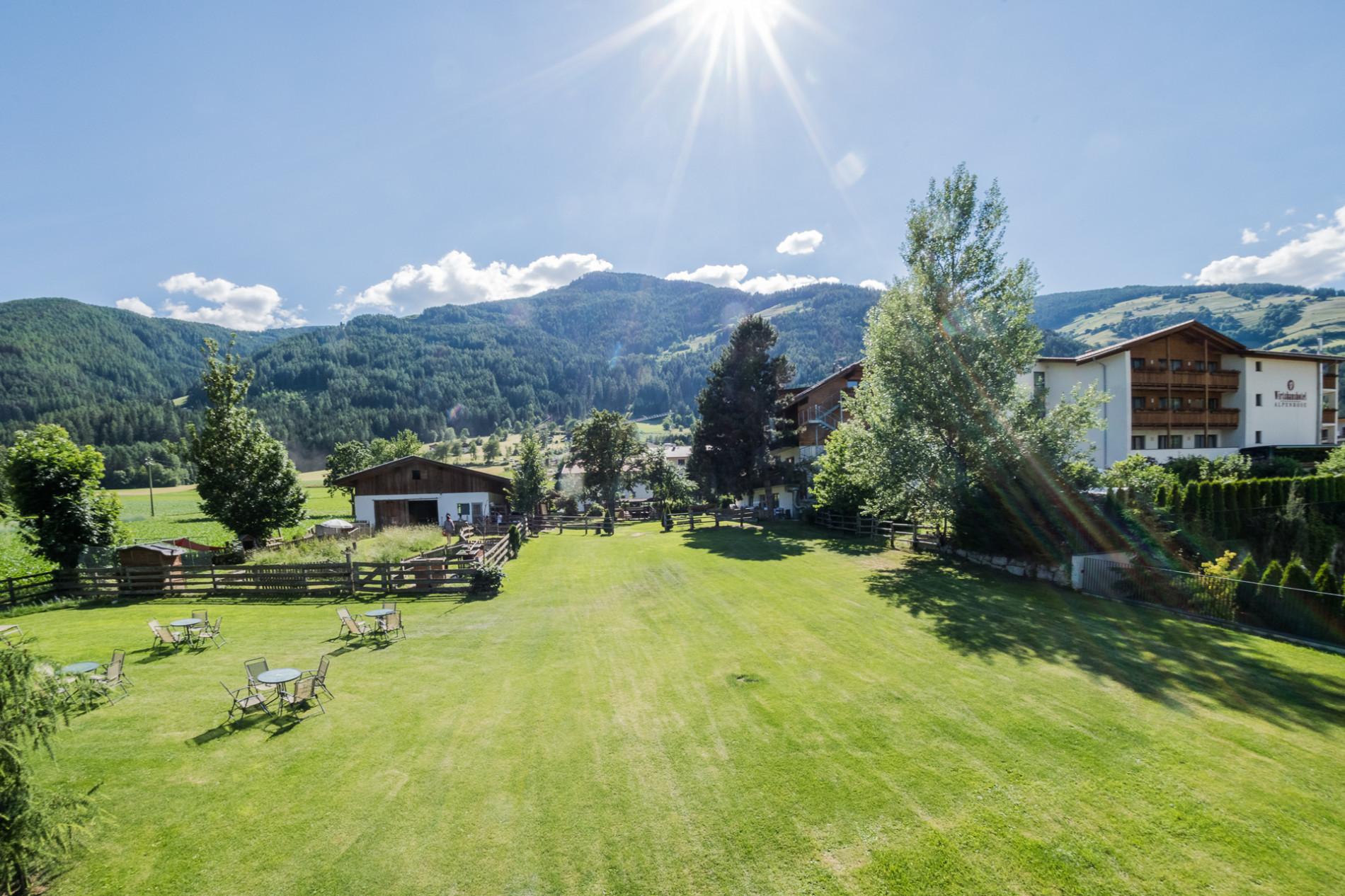 Hotel Alpenrose Garten