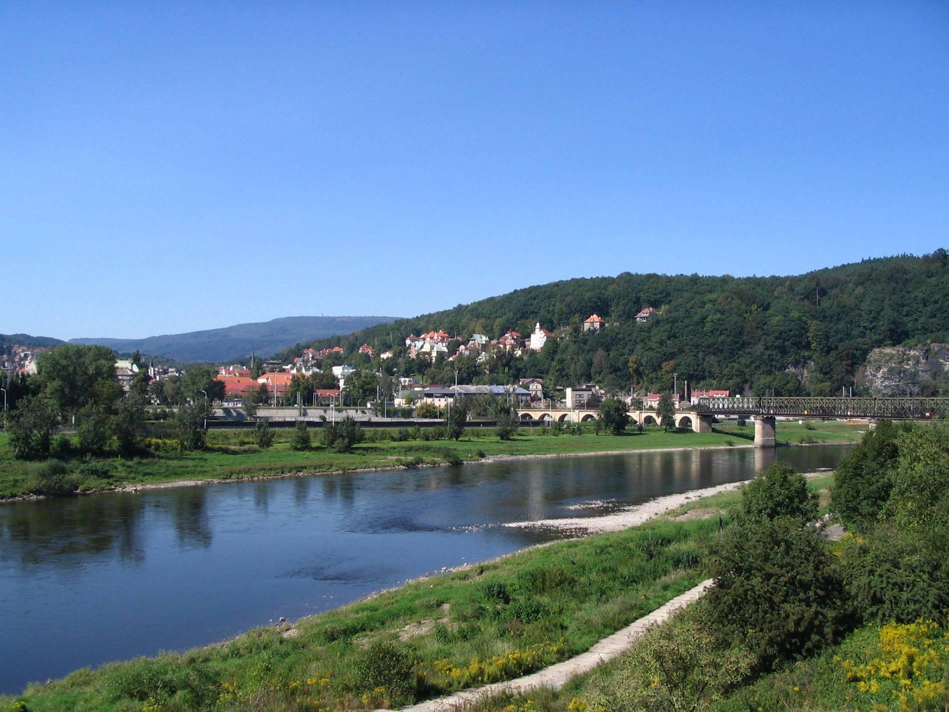 Bad Schandau Fluss