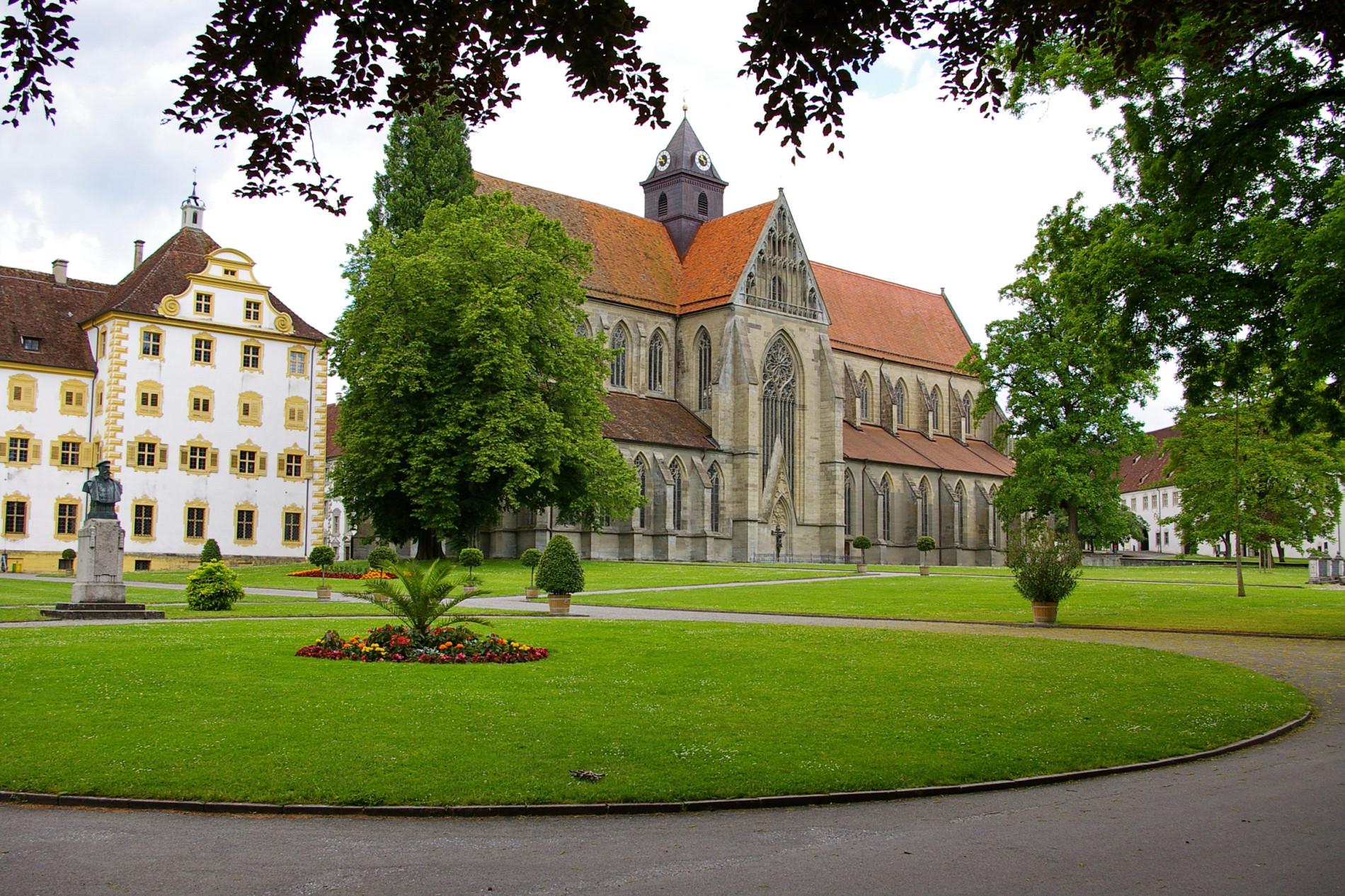 Bodensee Salem Kloster und Schloss