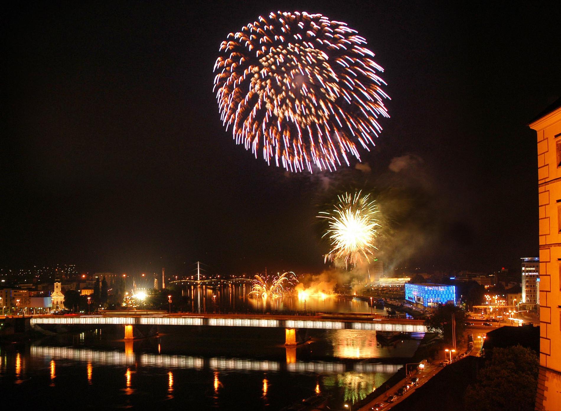 Linz Feuerwerk