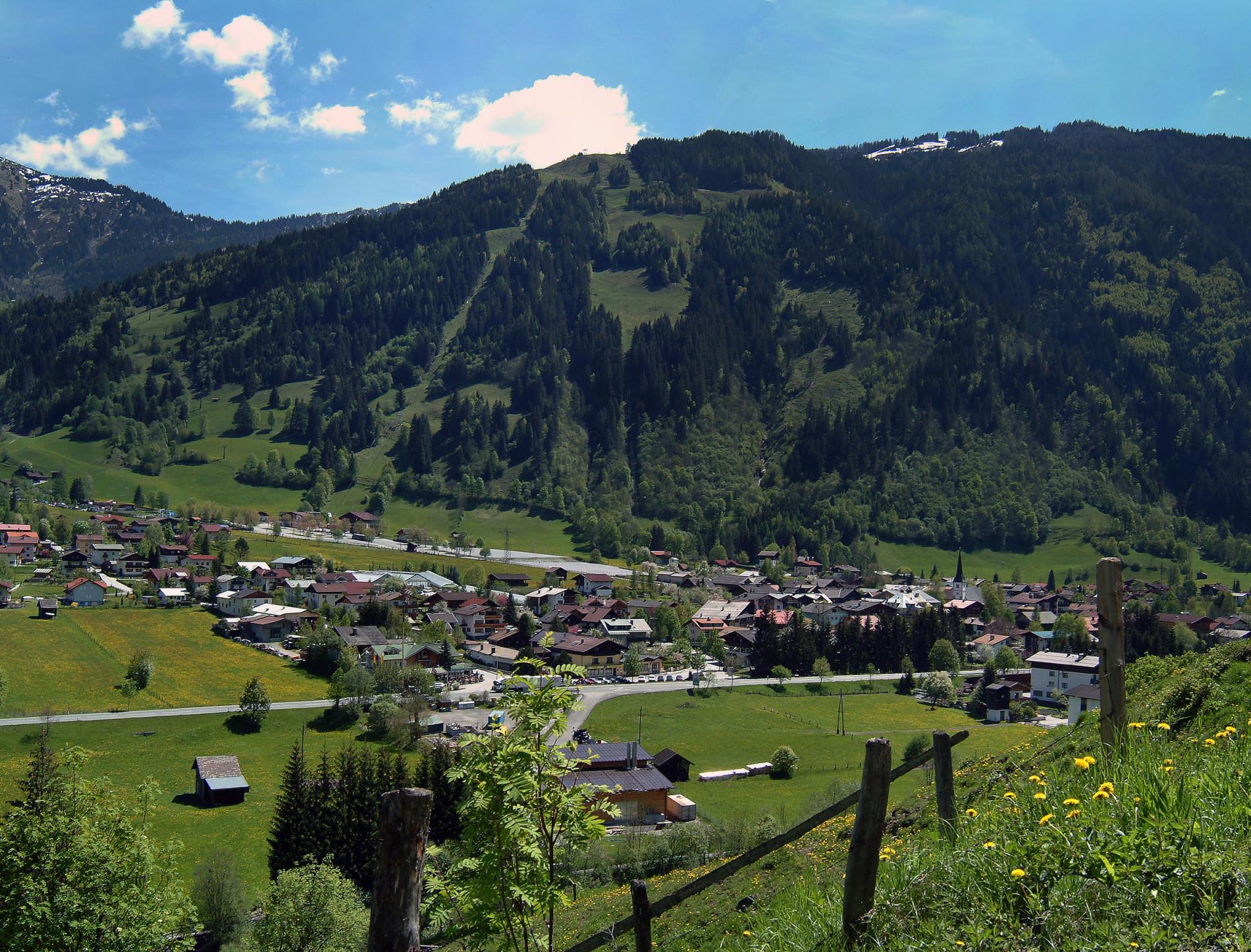 Blick auf Dorfgastein