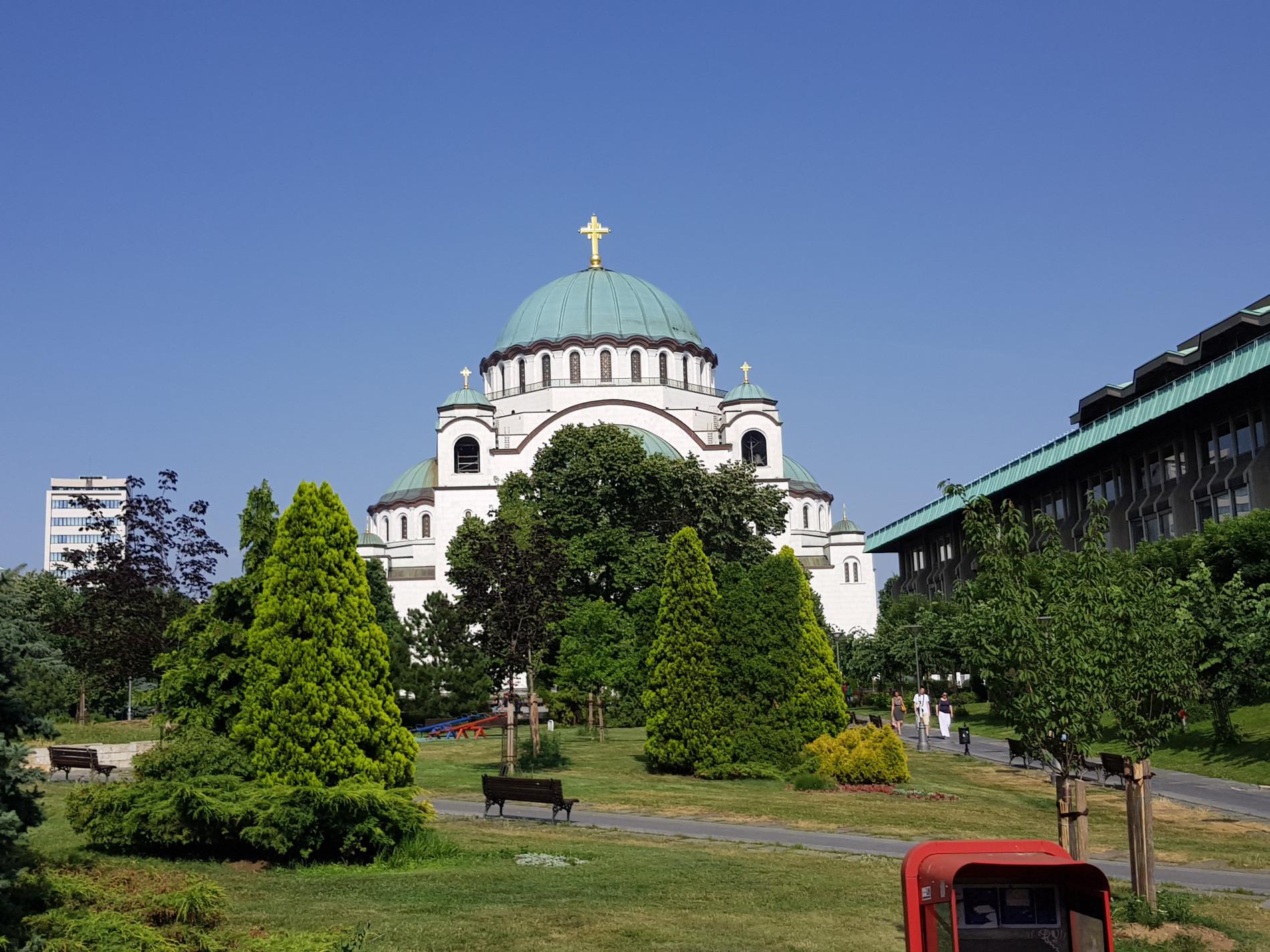 Belgrad Dom des Heiligen Sava