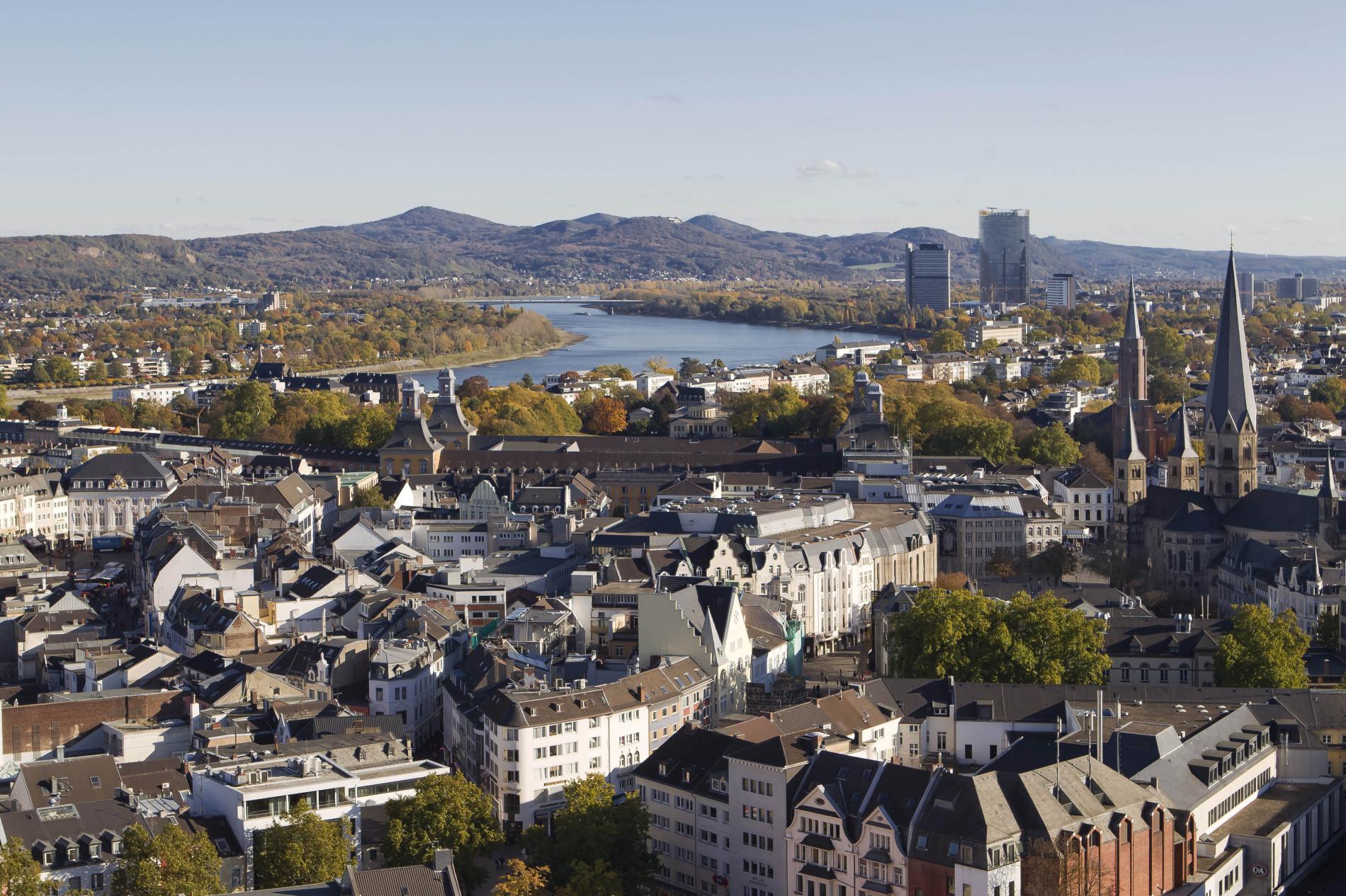 Panorama Stadthaus Bonn