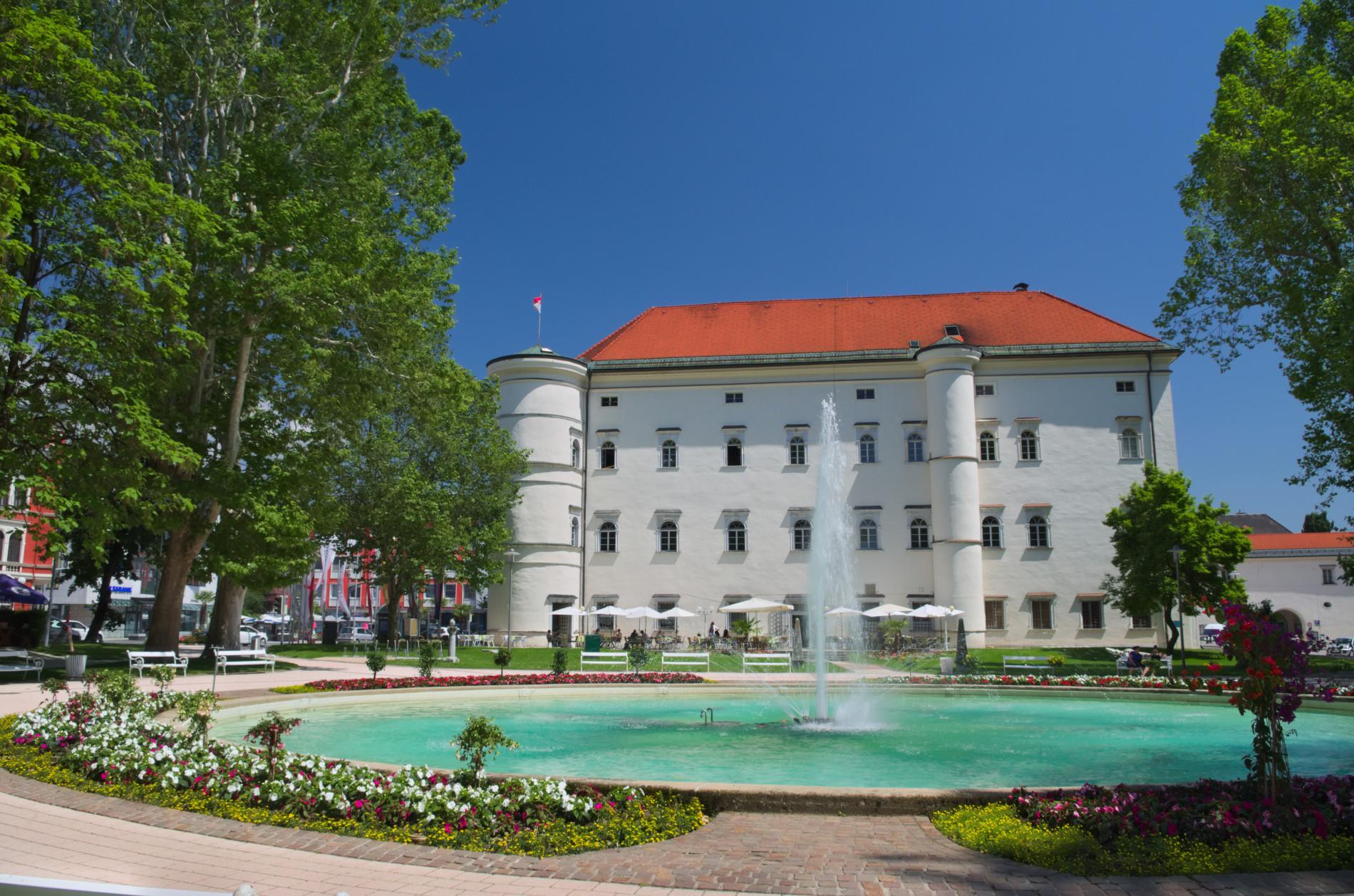 Spittal an der Drau - Schloss Porcia