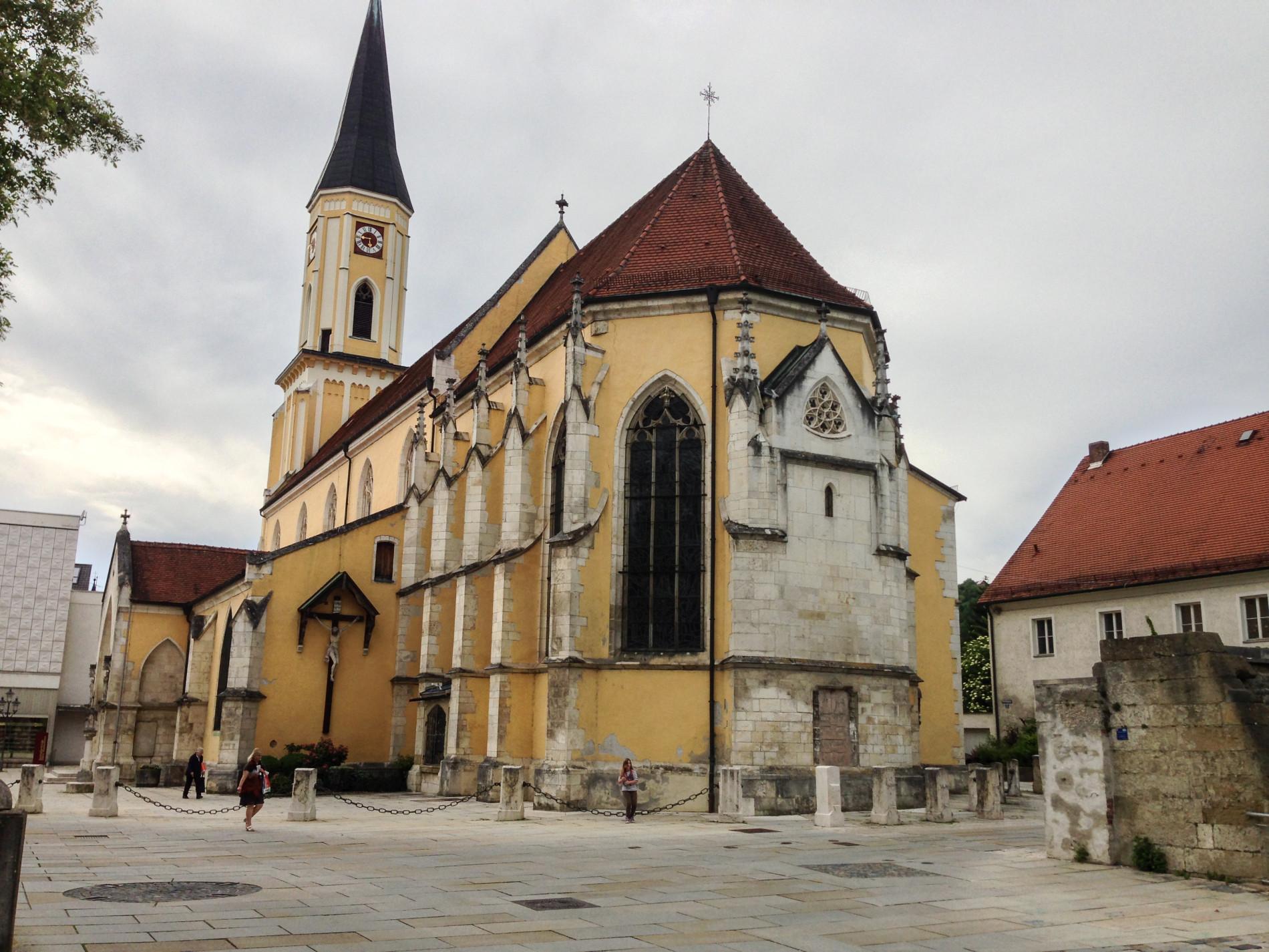Kelheim Stadtpfarrkirche Maria Himmelfahrt