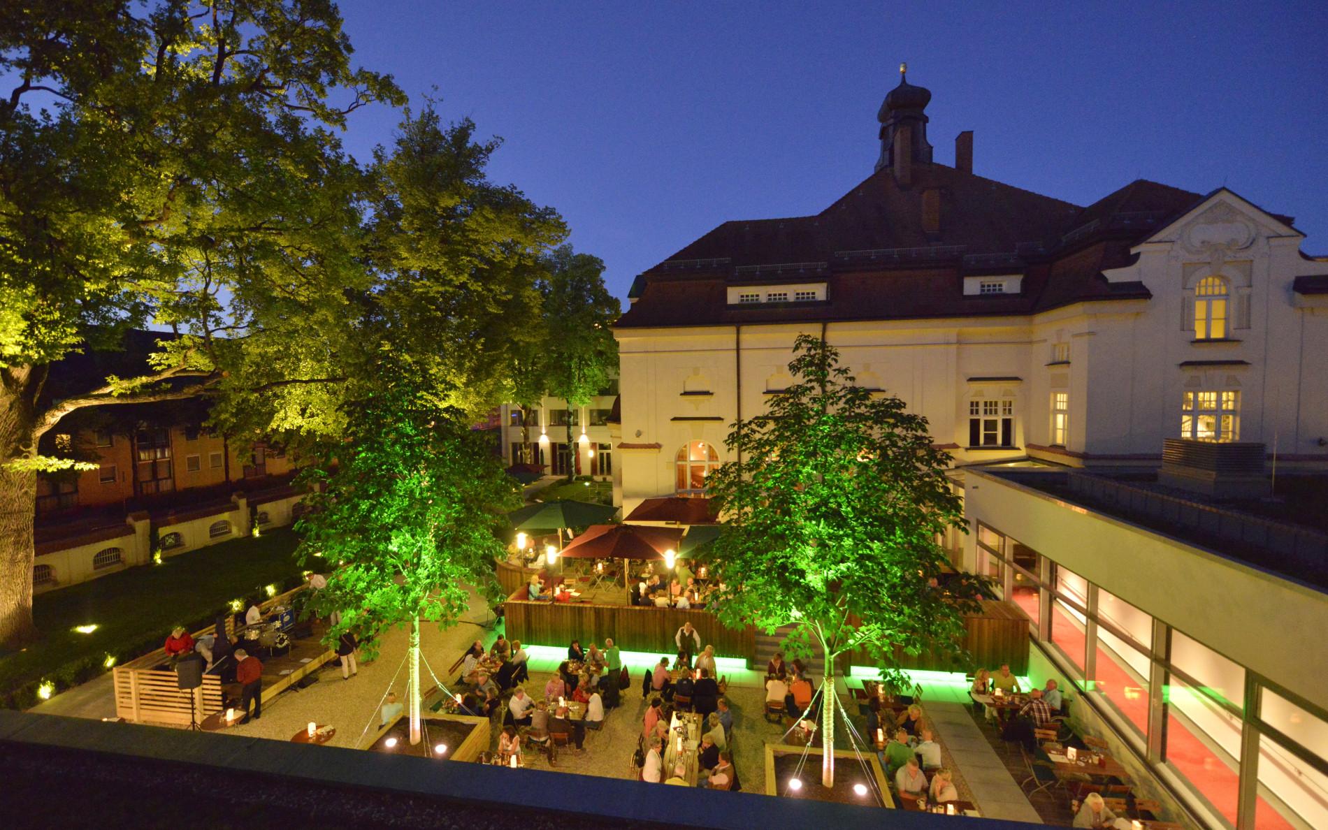 Gastgarten in Straubing