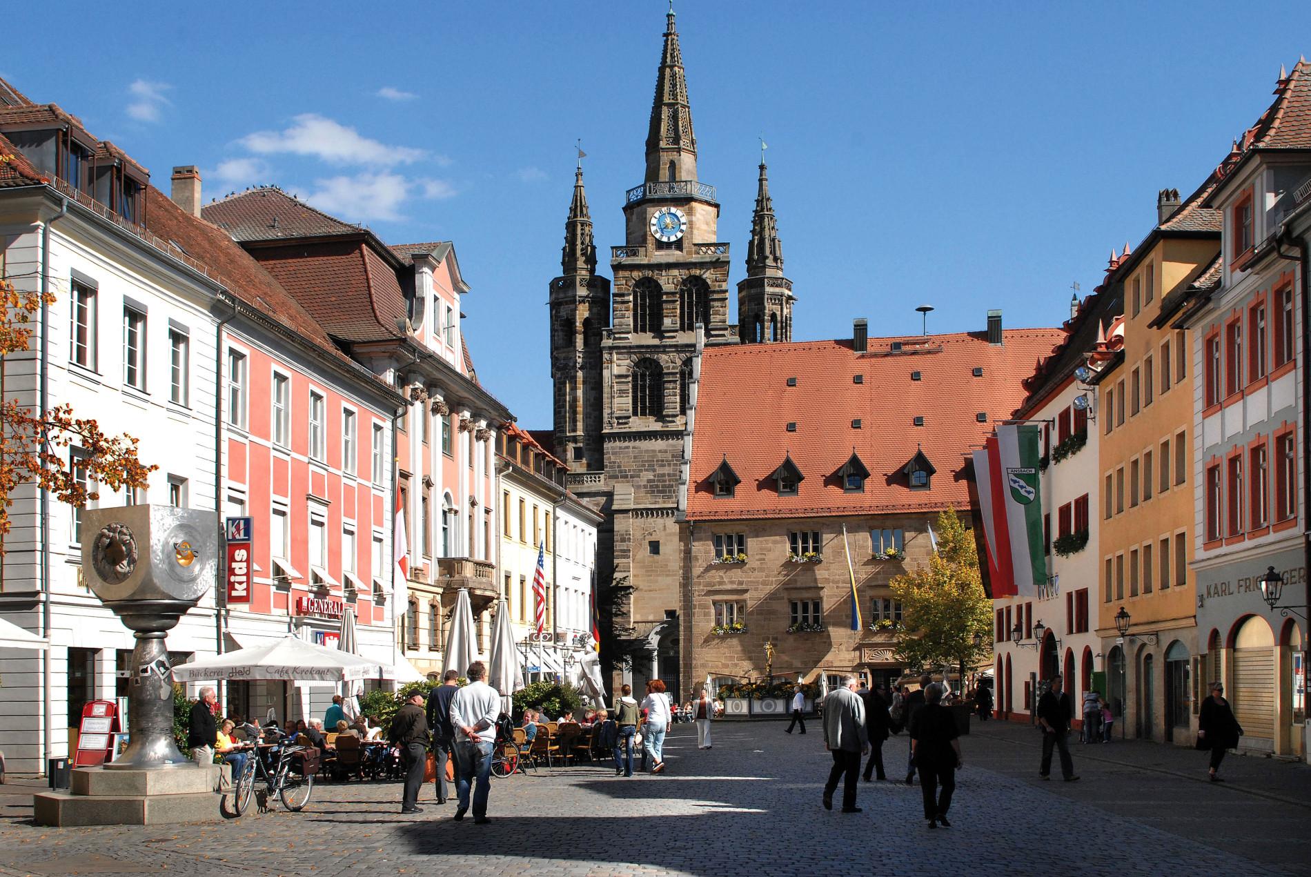 Ansbach - Gumbertus Kirche