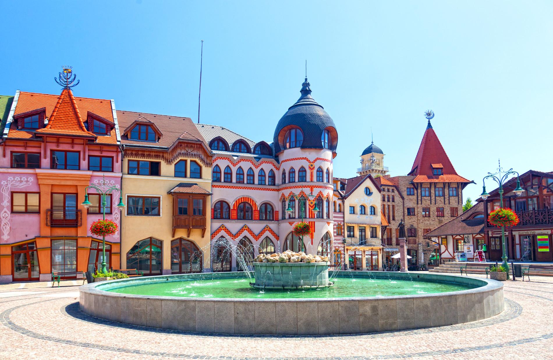 Komarno Europaplatz