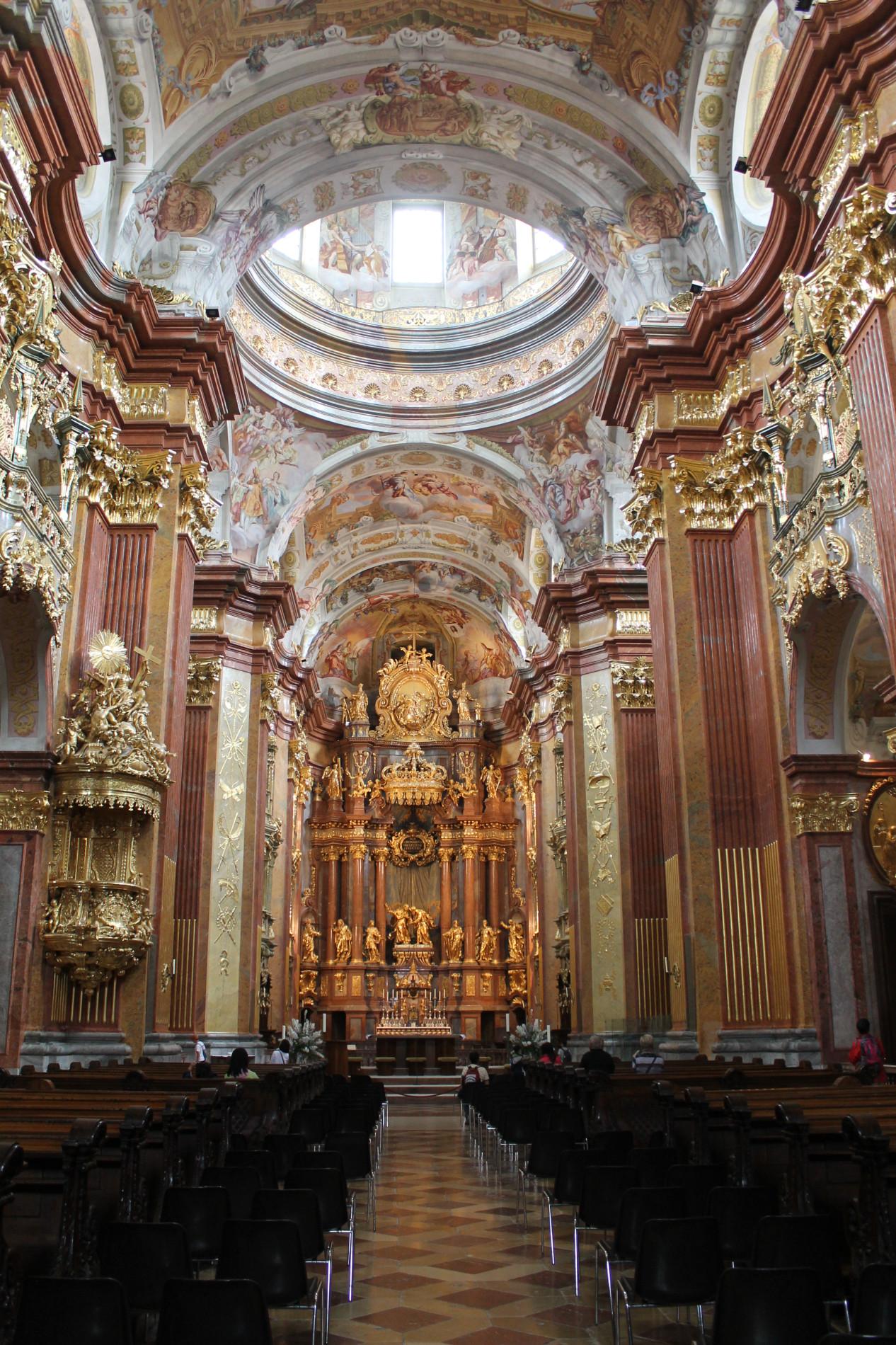 Stift Melk Stiftskirche
