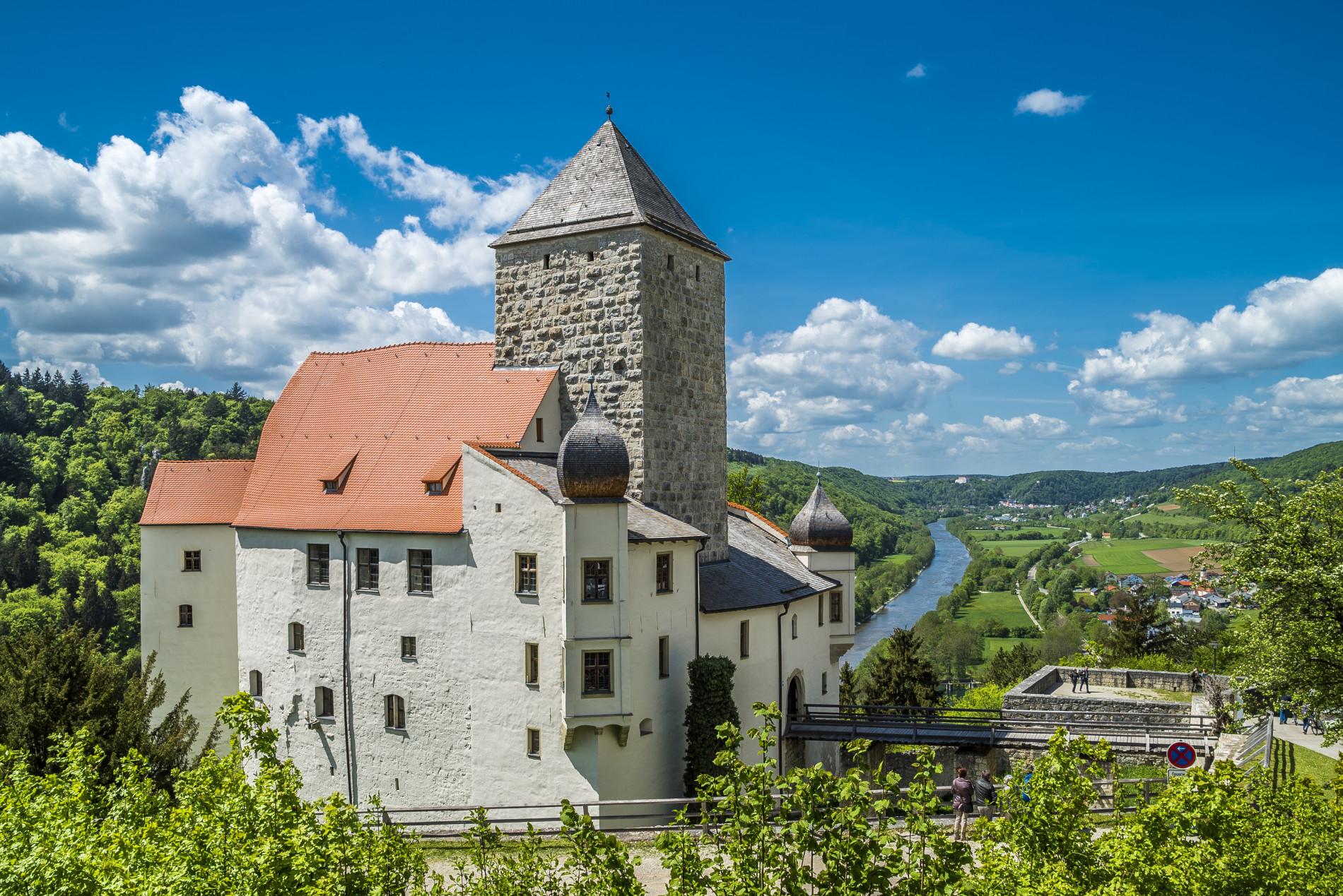Riedenburg Burg Prunn