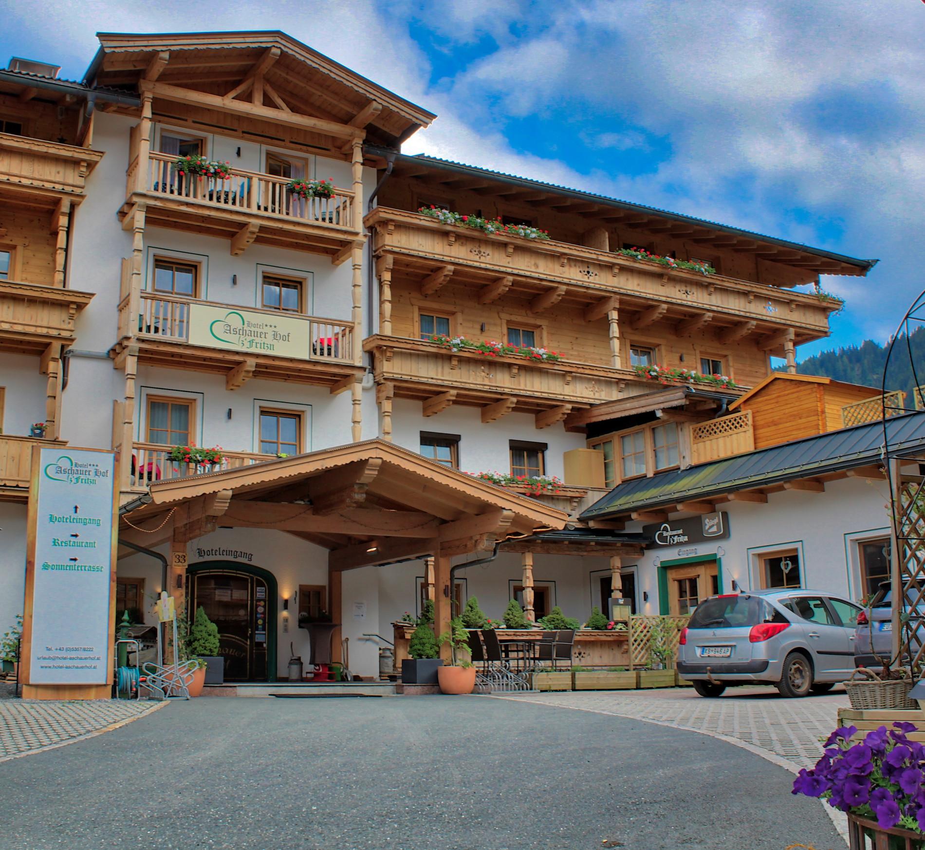 Hotel Aschauer Hof Zufahrt