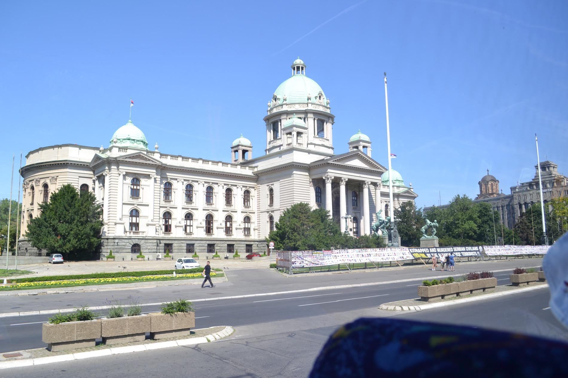 Belgrad Parlamentsgebäude