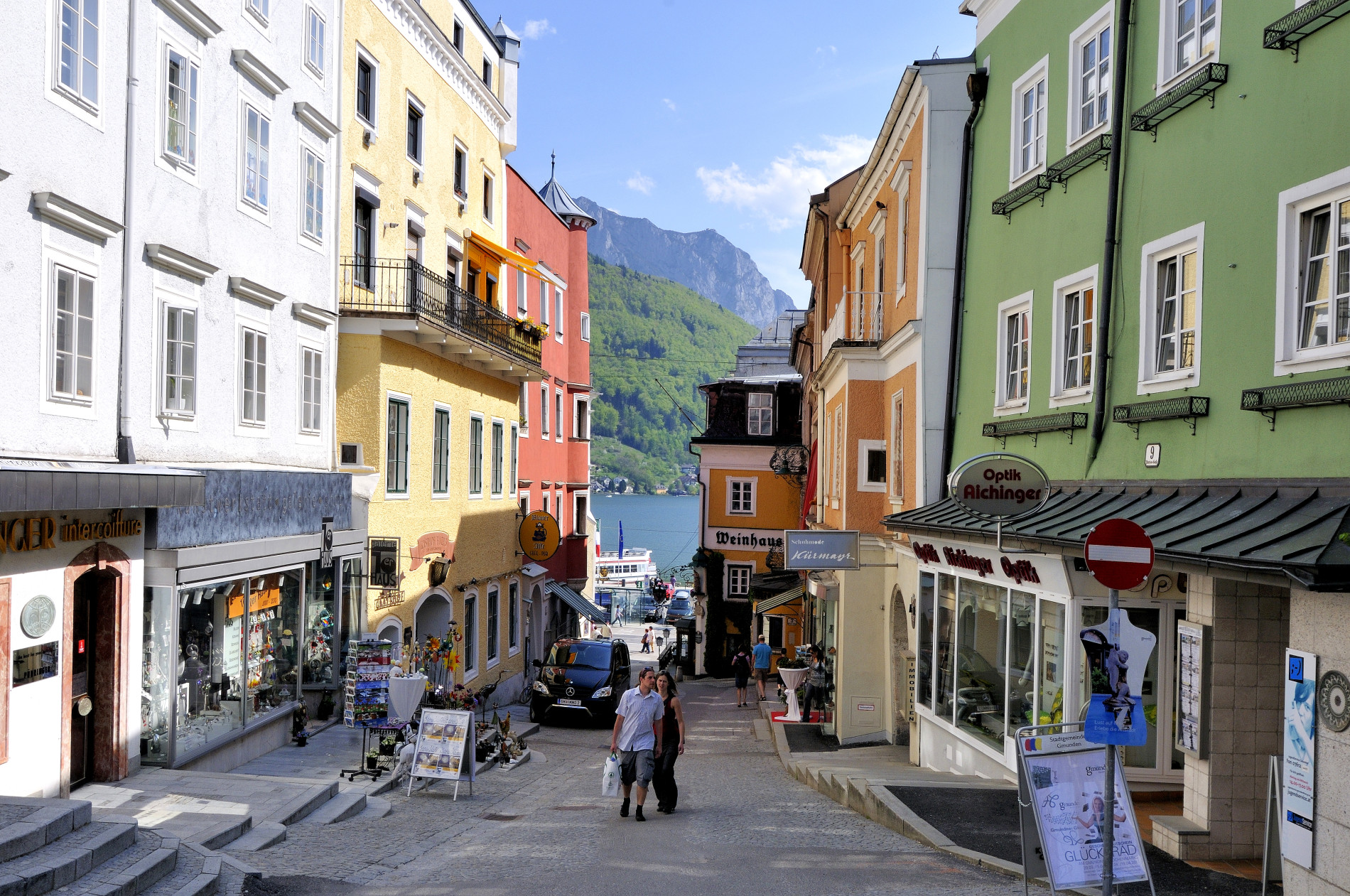 Kirchengasse in Gmunden