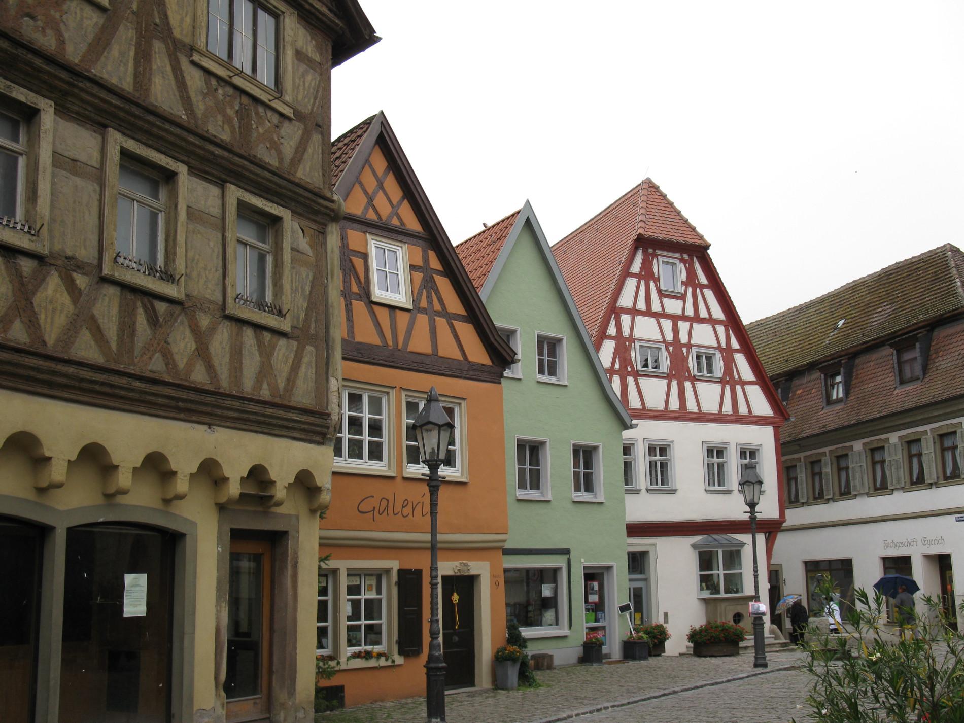 Dettelbach Häuser
