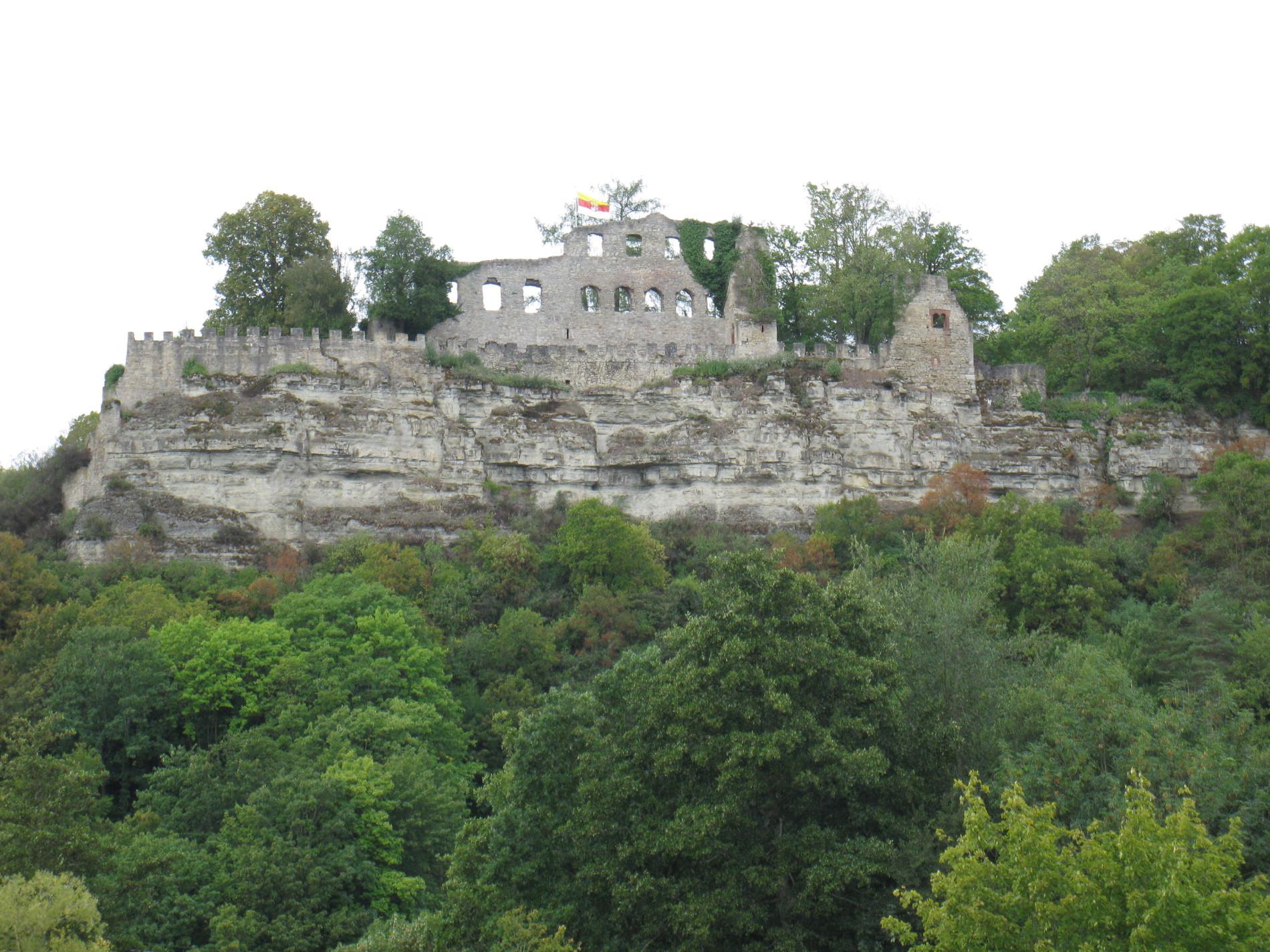 Karlstadt Ruine Karlsburg