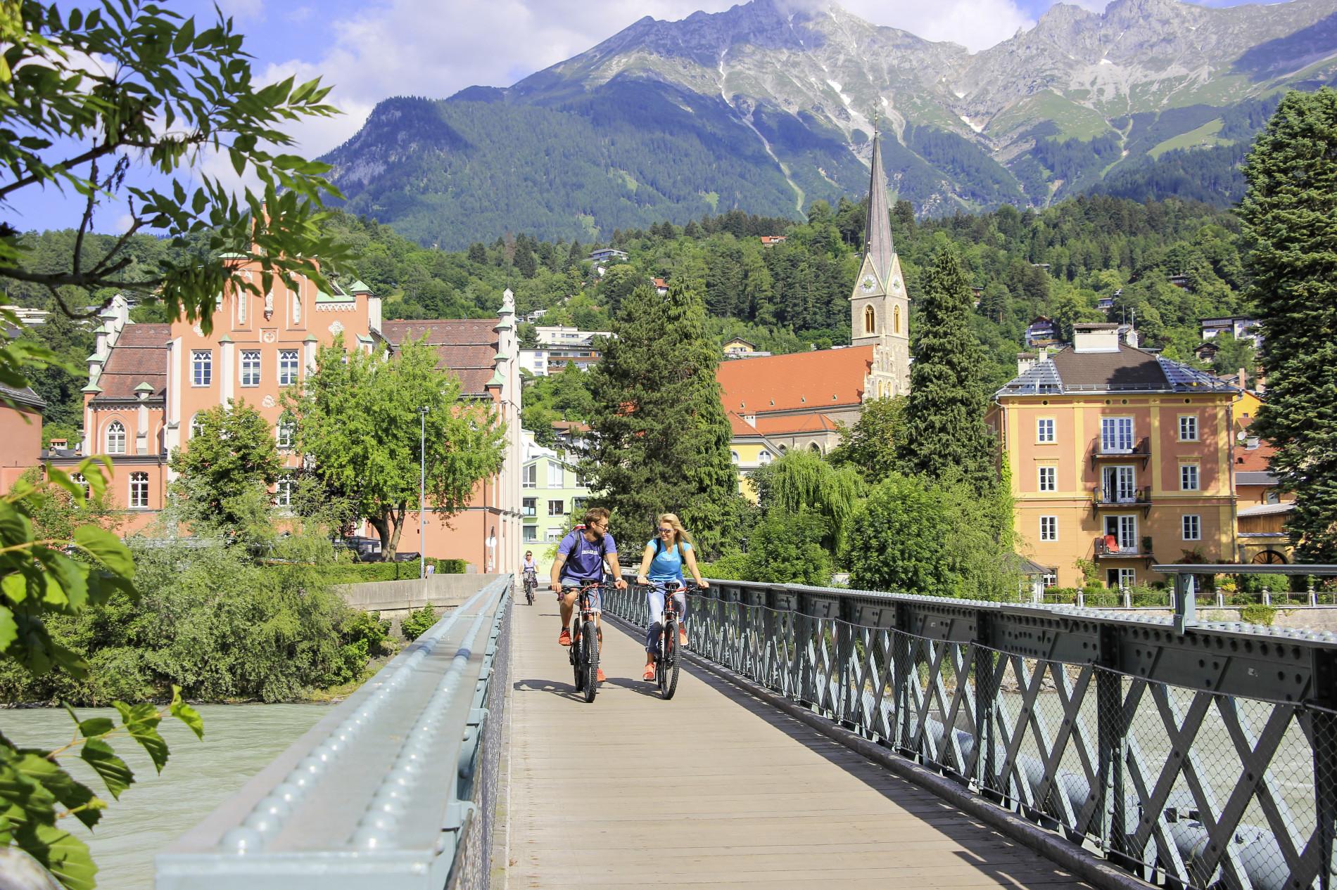 Radler in Innsbruck