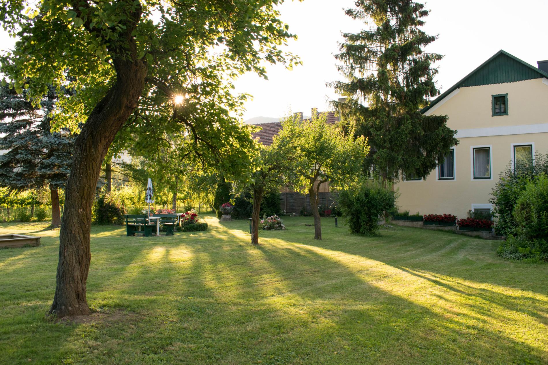 Gasthof zur Wachau - Garten