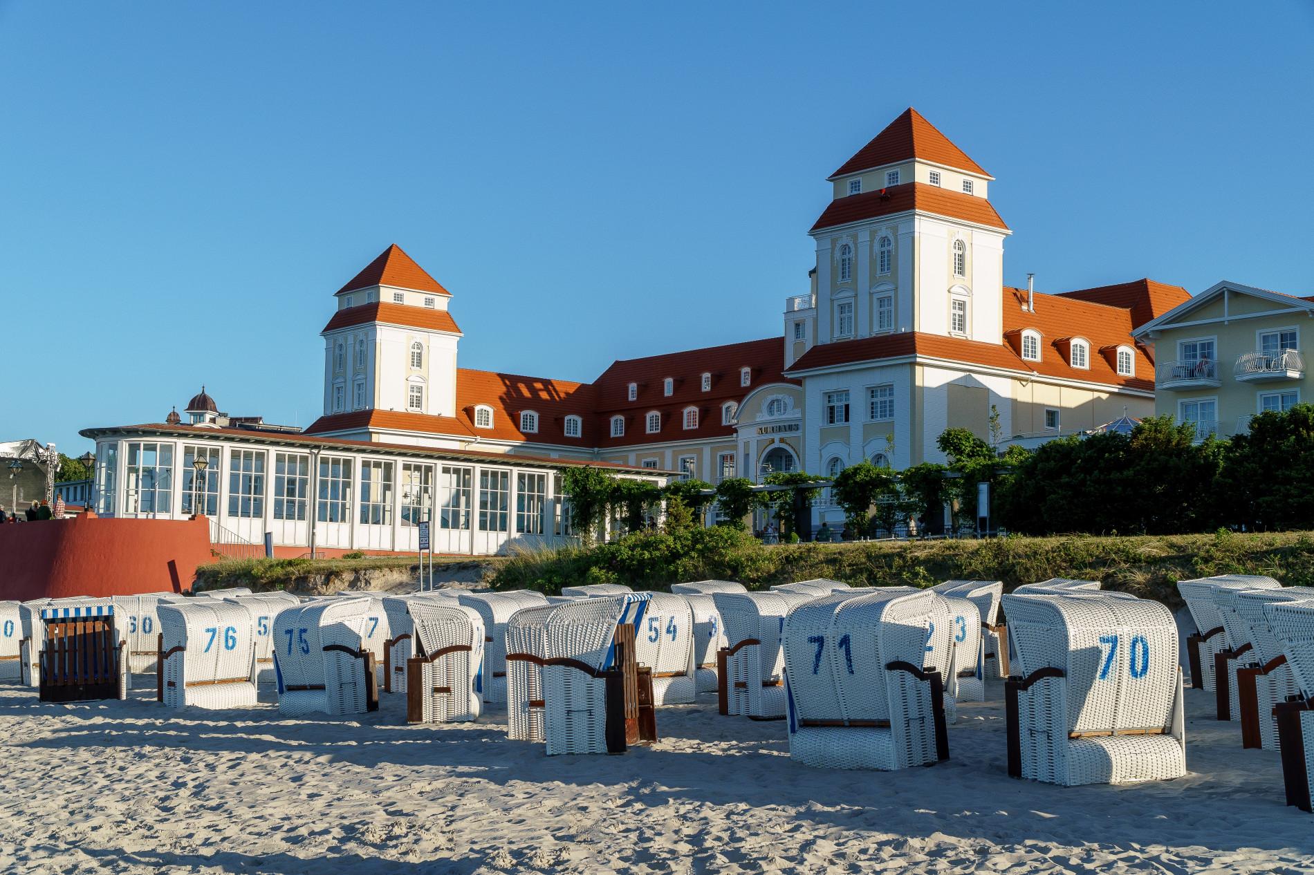 Kurhaus Strandkörbe