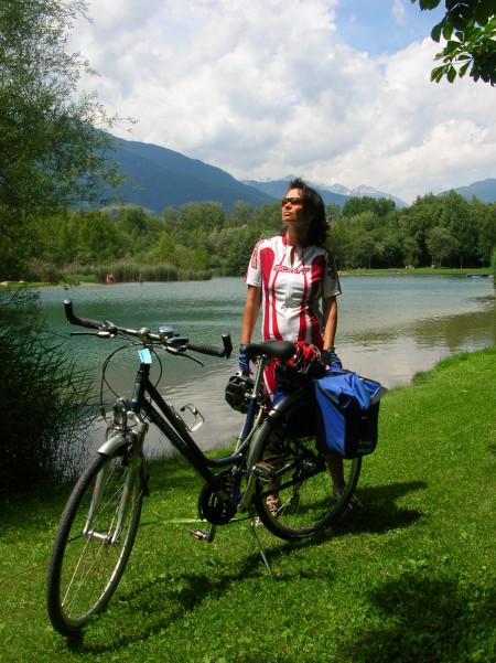 Neben Radweg bei Naturns