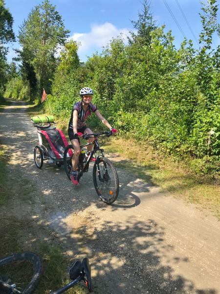 Radweg zwischen Ferlach umd Klopeiner See