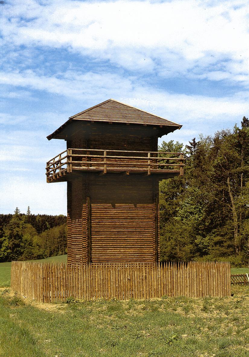 Bad Gögging Limes Wachtturm