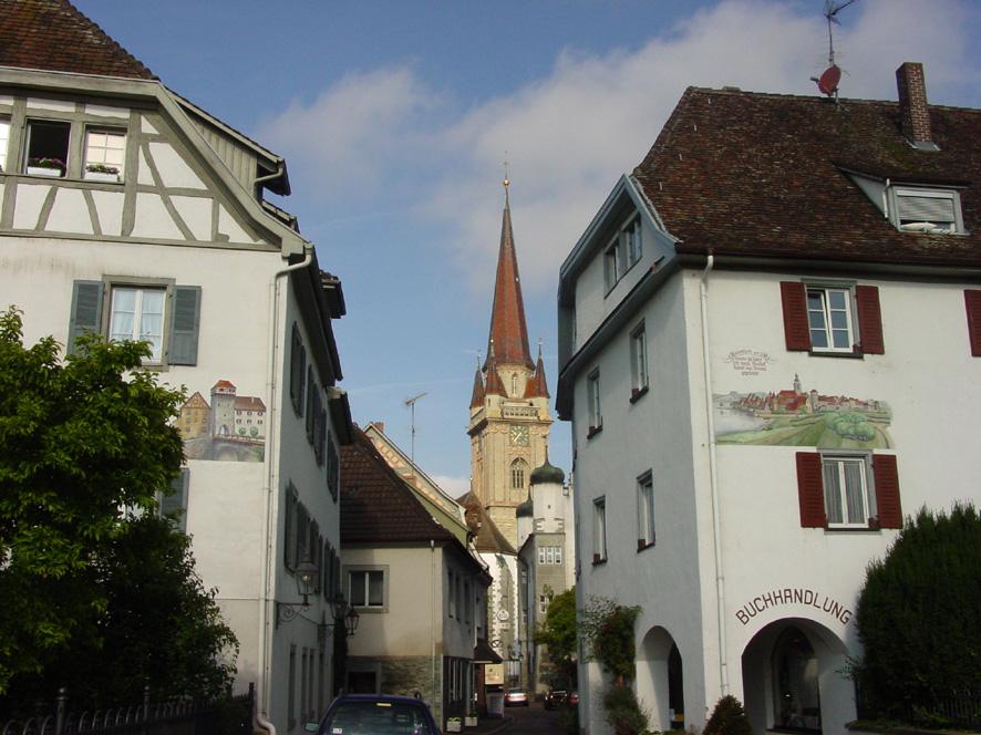 Radolfzell Obertor mit Münster